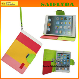 new coming leather stand case leather case for new ipad air ipad 5