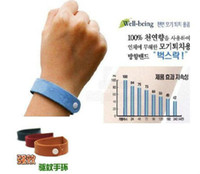 Polyester Eco-Friendly Mosquitoes Free shipping natural anti mosquito insect pest killer bracelet Repellent wholesale bulk price 40pcs lot mixed colors bulk price