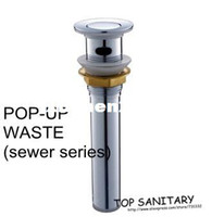 Cheap TB9001# Free shipping Full brass chrome plated Pop-up waste sewer series