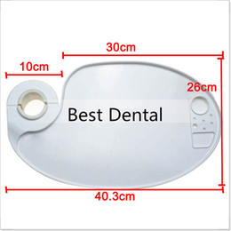 Wholesale Teeth whitening Dental lab endodontic Dentist orthodonticorthodonticPlastic Post Mounted Tray Table for Chair Accessories
