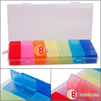 Cheap New 7 Days Colorful Pill Medicine Tablet Drug Box Case Organizer Container[23497|01|01]
