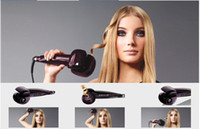 Temporary Hair Roller C1000E 12pcs lots Purple Hair Curler Pro Secret Curl STYLIST HAIR ROLLER automatic SecretCurl C1000E eu plug