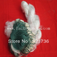 Wholesale 50pcs Fishing net Gillnet Gill net Catch fish White Monofilament Nylon x M L H Mesh x1 cm