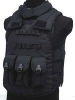 Wholesale Airsoft Paintball Tactical Combat Assault Vest Tactical Gear Vest Black Coyote Brown Multi Camo Camo Woodland OD