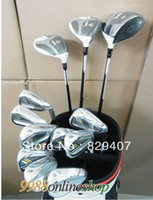 Wholesale Hot New golf clubs R BZ Complete Club Sets wood irons Putter No bag Graphite shaft amp steel shaft EMS