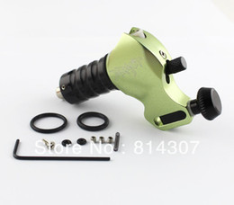 Wholesale Green Aircraft Alu Rotary Tattoo Machine Gun Stigma BEAST Swiss Motor NEW
