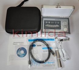 Wholesale KQRM Quantum Resonance Magnetic Analyzer bio electric body subhealth AE organism analyzer spanish french indonesian malay slovak reports