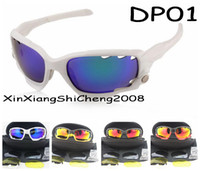 Wholesale 2014 year Racing Jacket Cycling Bicycle Bike color Outdoor Sports Sun Glasses Eyewear Goggle Sunglasses color lens