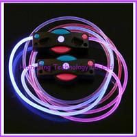 LED Shoelace Classics LED shoelace  Fiber Optic LED Shoe laces neon led strong light flashing shoelace led hiking boot shoelaces