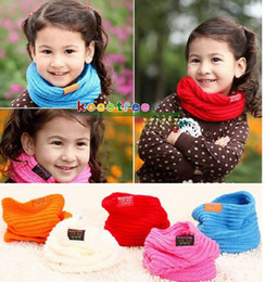 Wholesale New Hot Sale Baby scarf Children s muffler autumn and winter New Fashion scarf Children s Scarves amp Wraps color for choose pc Melee