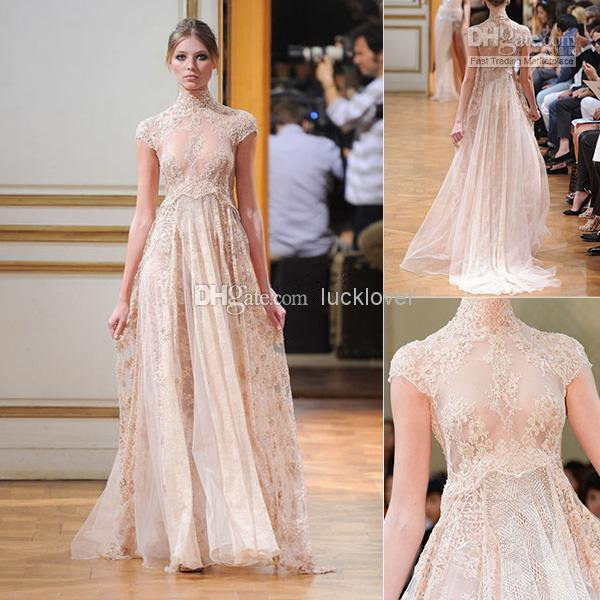 2014 new collection zuhair murad empire bridal gown for Zuhair murad 2014 wedding dresses