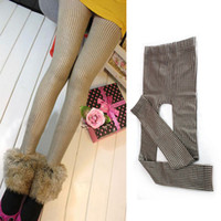 Cheap 5pcs lot***Free shipping Girls Lady Sexy Stockings Pants Tights Pantyhose Shiny Grid Skinny Warm drop shipping SP0257