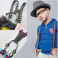Wholesale Adjustable Child Clip on Pants Y back Suspender Braces Elastic Kid Toddler Belts LKM109 Dropshipping