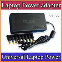 Wholesale DHL sales promotion W Universal Laptop Power adapter W AC charger Dell plug