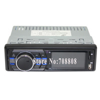 Cheap Free Shipping 12V Car Mp5 player 1 Din deck less 24 Hour Digital Clock function Electronic encode Volume Control