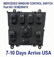 A/C Switch Yes ML320 ML430 ML55 MASTER WINDOW CONTROL SWITCH For MERCEDES ML320 ML430 ML55 Part NO:1638206610 EXPRESS Ship