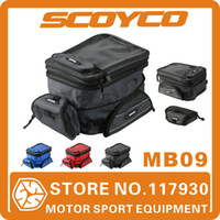 Wholesale 2014 Scoyco MB09 Motorcycle Tank Bag Sport Helmet Bags Racing Motobike Backpack Magnet Luggage Travel Accessories