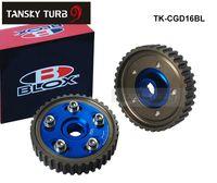 Wholesale Tansky BLOX Cam Gears Integra D16A SOHC for HONDA CIVIC blue original box TK CGD16BL High Quality