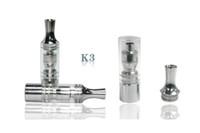 Cheap 2014 K3 Vapor K3 Clearomizer K3 Cartomizer Atomizer K3 E Cigarette K3 E Cig K3 Atomizer