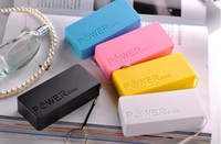 Cheap mix color power bank Best For Apple iPhone Emergency Chargers perfume