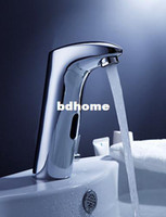 other automatic faucet - brass single lever chrome hot amp cold basin automatic faucet mixer tap A