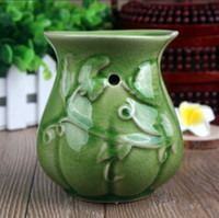 Wholesale Dia cm Beautiful Color Ceramic Home Fragrance Burner Essential Oil Heater Party Decoration DC807