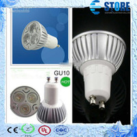 Wholesale Retail High power CREE W x3W Dimmable GU10 MR16 E27 Led Light Lamp Spotlight Led Bulb wu