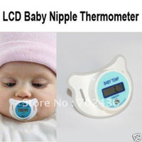 Wholesale LCD Digital Infant Baby Temperature Nipple Thermometer High Quality