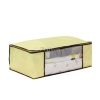 Wholesale 2014 New Large Jumbo Bedding Clothing Blanket Zipped Storage Bag Box Color Size to choose Cx23