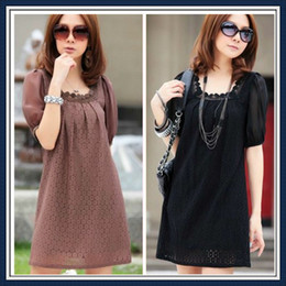 Wholesale fashion maternity wear clothing summer dress skirt tops short sleeveless Pregnant women lace chiffon color one piece