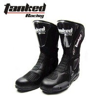 Wholesale Germany Quality Tanked Racing Motocross Sports Shoes Motorcycle Cycling Shoes Knight Racing Boots T06277