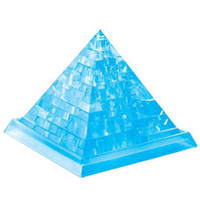 Wholesale Mini D Crystal Puzzle Pyramid Design Puzzle Educational Toys Creative Gift For Your Child