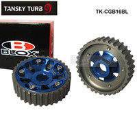 Wholesale Tansky BLOX Adjustable Cam Gears Alloy Timing Gear FOR DOHC B16A B16B for HONDA CIVIC BLUE TK CGB16BL