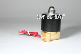Wholesale 12V DC quot Electric Solenoid Valve Water Air N C Gas Water Air W025