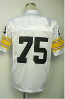 Wholesale New Arrival American Men s Football Jerseys Joe Greene White Throwback Jerseys