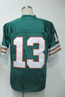 Wholesale New Arrival American Men s Football Jerseys Dan Marino Green Throwback Jerseys