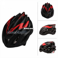 Wholesale Semigloss Red black Cycling Bike Bicycle Adult Safety Holes Helmet with Net