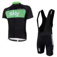 Wholesale best sale team SKY cycling jersey university of michigan cycling jersey Short Sleeve Bib Shorts Sets