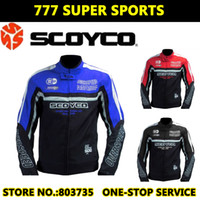 Wholesale New Arrival Scoyco JK21 Men Motorcycle Jackets Water Resistant Suzuki Hayabusa Design Match Protective Pads K08H08