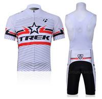 Wholesale new style cheap bicycle clothing spanish cycling jersey Trek cycling wear Short Sleeve Bike Bicycle Wear Bib Shorts