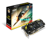 Wholesale 2013 New MSI R9 X HAWK AMD R9 X G GDDR5 bit PCI Express DirectX SP Graphics Card via DHL H630