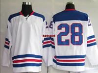 Cheap Olympic Hockey Jerseys Mens USA #28 Rafalski ice hockey Jerseys Fashion American Ice Hockey Jersey 2014 Hot Cheap Hockey Wears Mix Order