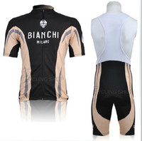 bianchi - Bianchi Milano Cycling Jerseys Road Racing Cycling Clothing bicycle bodysuit High elastic spandex Mens Cycling Wear Compressed PANTS