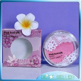 Wholesale pink bud silk bulush renewal shine blusher korean ingrident