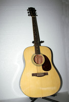 Wholesale HOT Natural color Acoustic Guitar Guitar from china