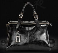Wholesale 2014 Best Selling Designer Brand News Genuine Real Cowhide Leather Fashion Womens Shoulder Handbags Bags Bag Color Top