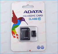 Wholesale Adata GB Class Micro SD Card TF Memory Card SDHC Free Adapter For Smartphone and mp4 player Retail Packaging DH0749g