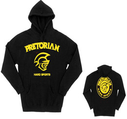 MMA Junior dos Santos Pretorian BLACK Hoodie man Sweatshirts S013