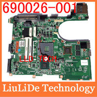 Wholesale Warranty intel MAINBOARD for HP Elitebook Probook p b Laptop motherboard