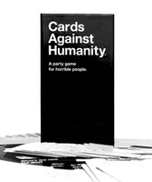 Wholesale 460 Black and White Cards For horrible people Against Humanity bundle Cards Game For Party game